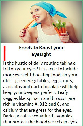 food for your healthy eyesight