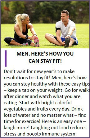 men fitness strategy