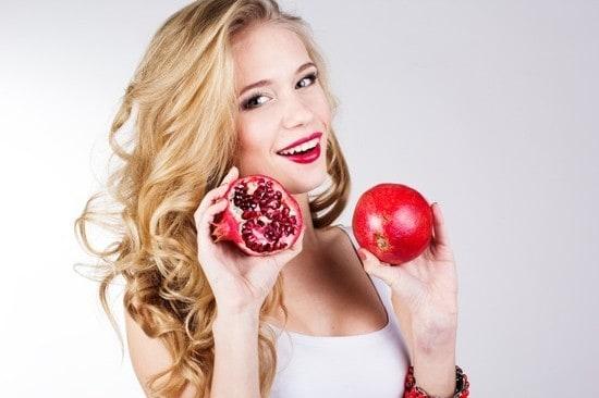 Pomegranate skin benefits