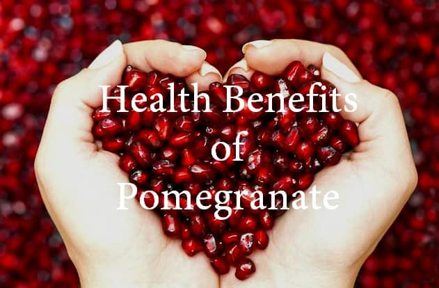 top health benefits of pomegranate