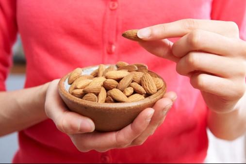 Handful of almonds is handful of health