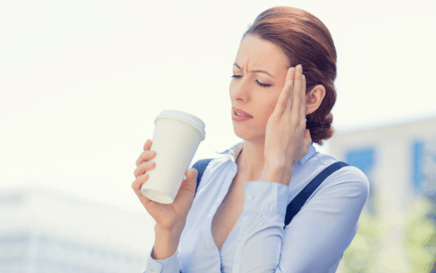 tea or coffee when having headache