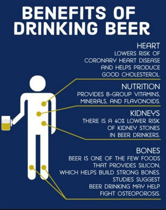 top beer health benefits