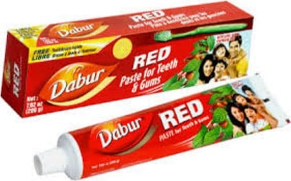 dabut red babul healthy toothpaste