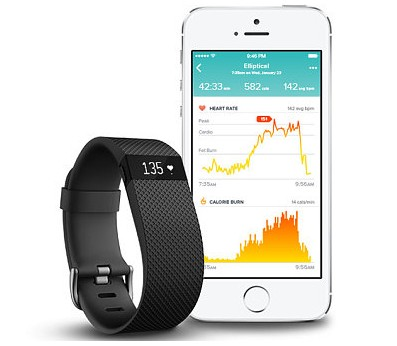 fitbit charge wearable device