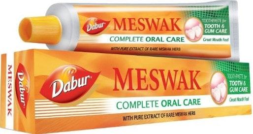 meswak dabur toothpaste healthy oral