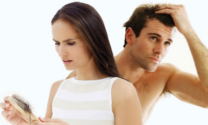 common reasons of hair fall