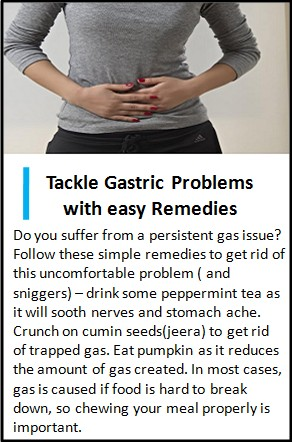 best home remedies for gastric isse