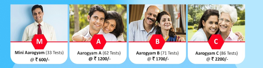 aarogyam tests costs at thyrocare