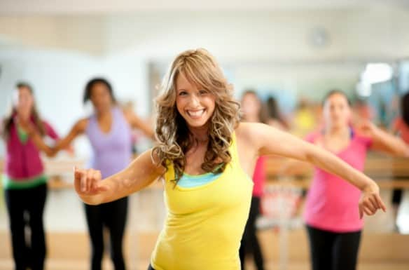 zumba workout fitness dance routine