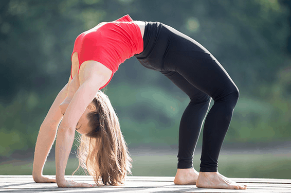 chakrasana yoga pose for gaining or increasing height