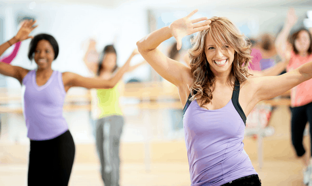 dancing fitness girls and health tips
