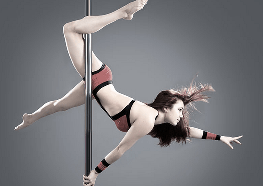 pole dancing for fitness and great body figure