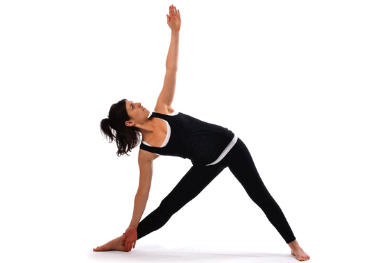 trikoasana pose for increasing height fast