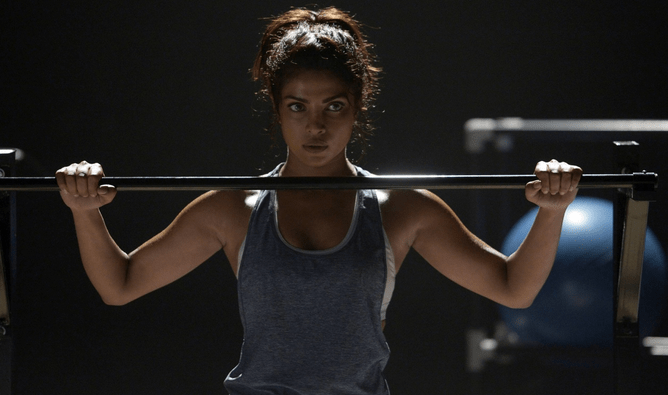 workout fitness routine of sexy figured priyanka chopra