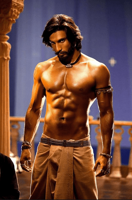 ranveer singh muscular body and secrets