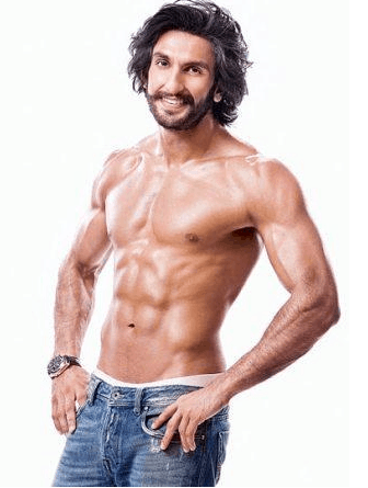 ranveer singh physical stats