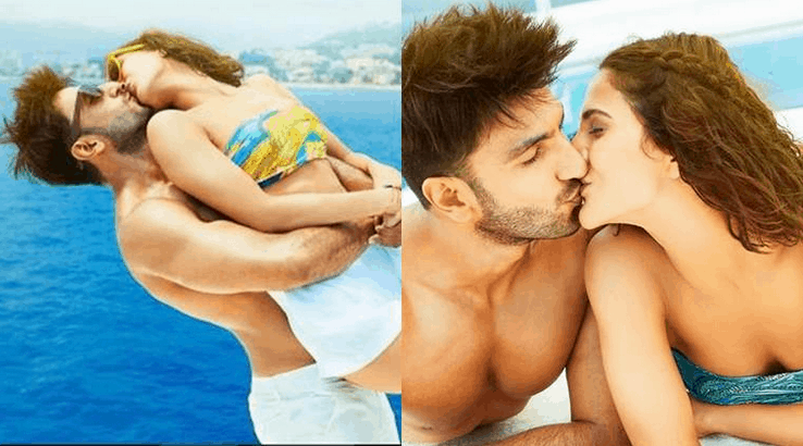ranveer singh sexy body and kisses
