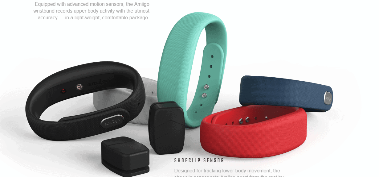 amiigo fitness band and tracker