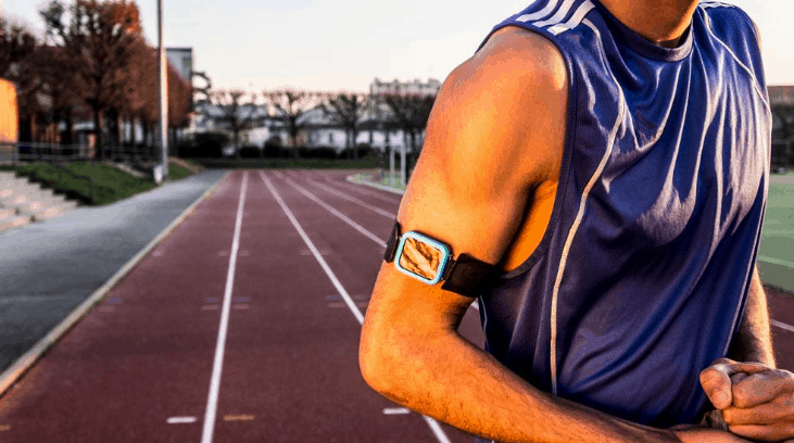 k track athlete fitness gadget