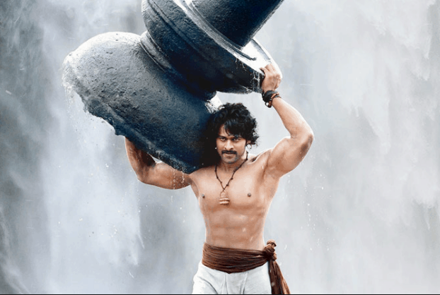 prabhas great body and muscular physique