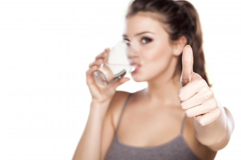Drinking water during periods