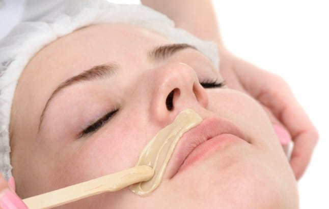 Permanent removal of upper lips hair