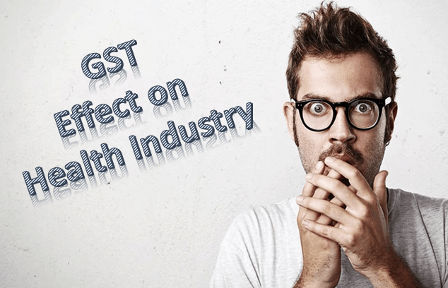 GST effect on health and pharma industry