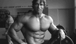 Muscular Arnold Schwarzenegger Amazing Gym Workout Routine and Diet Plan; Fitness & Body Tips