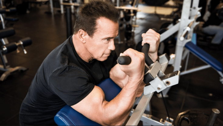 Arnold Schwarzenegger workout body building tips
