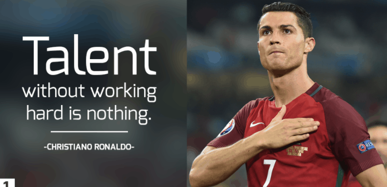 Cristiano Ronaldo fitness quotes and pics
