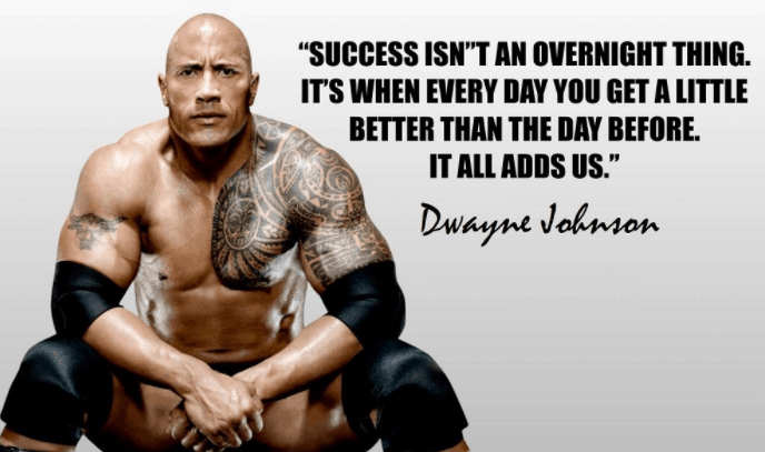 Dwayne Johnson, the rock inspirational quotes