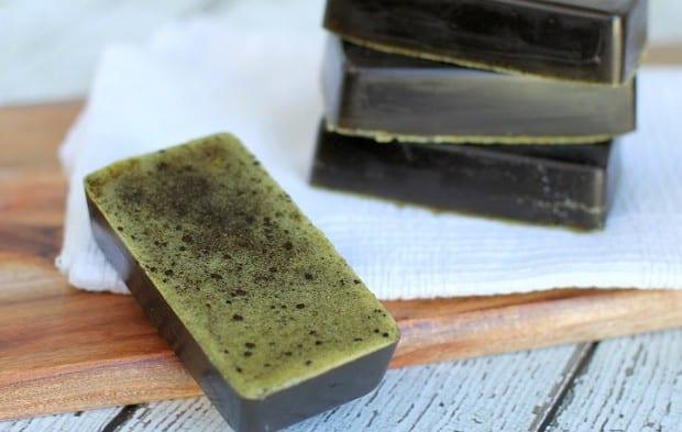 Green Tea as a soap