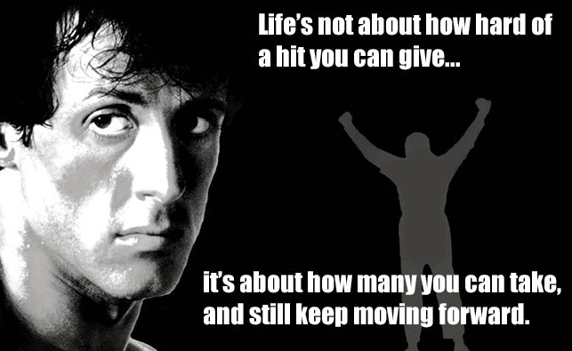 Sylvester Stallone best fitness mantra and quotes