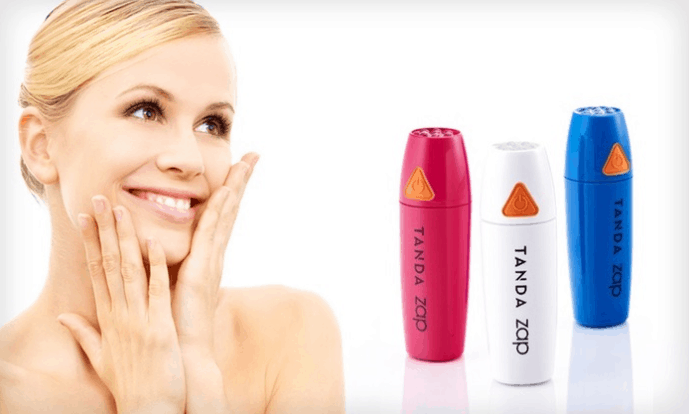 Tanda Zap Acne Clearing Device reviews and gadgets for women