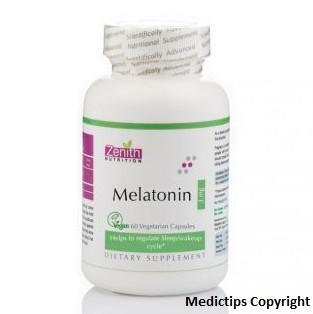 Zenith Nutrition Melatonin Capsule