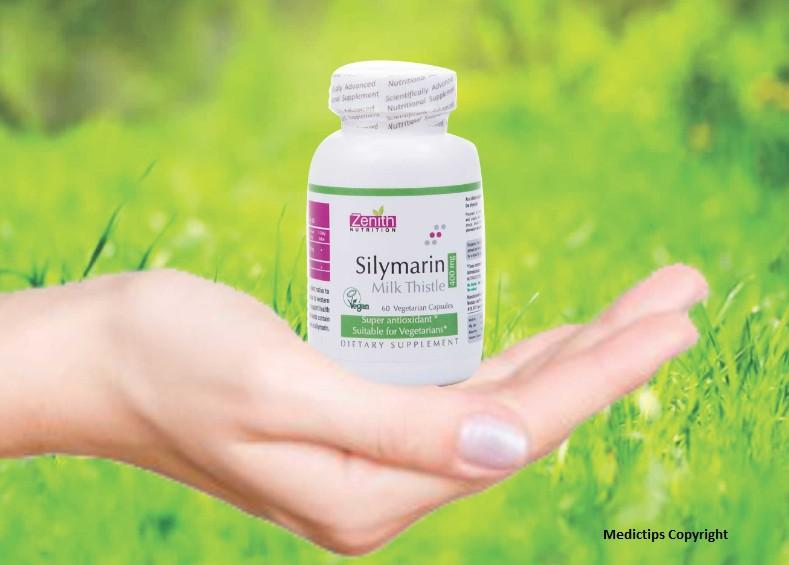Zenith Nutrition Silymarin Milk Thistle Standardized - 400mg