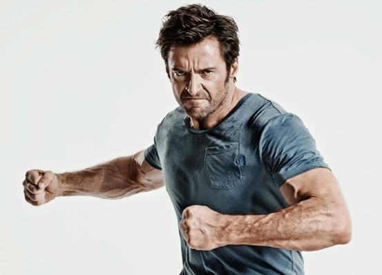 amazing muscular physique hugh jackman body pics