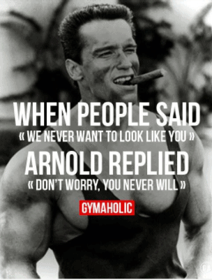 arnold great words in quotes