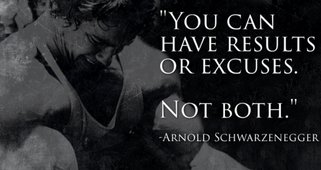 arnold well said words in quotes