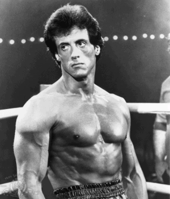 sylvester stallone rocky pictures and workout