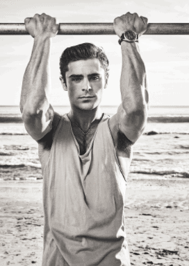 Zac Efron Amazing transformation to great muscular body