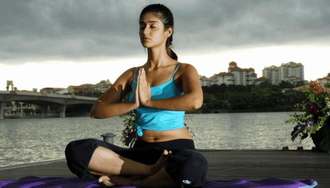 illeana d'crus fitness mantra yoga practice