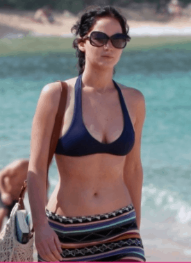 jennifer lawrence figure in swim suit