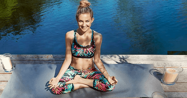 kate hudson yoga and fitness