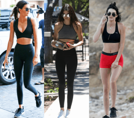 kendall jenner workout routine and diet plan