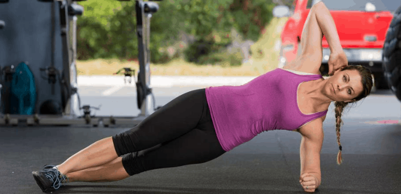 modified side plank for weight loss