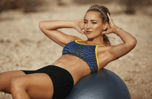 workout and fitness mantra kate hudson
